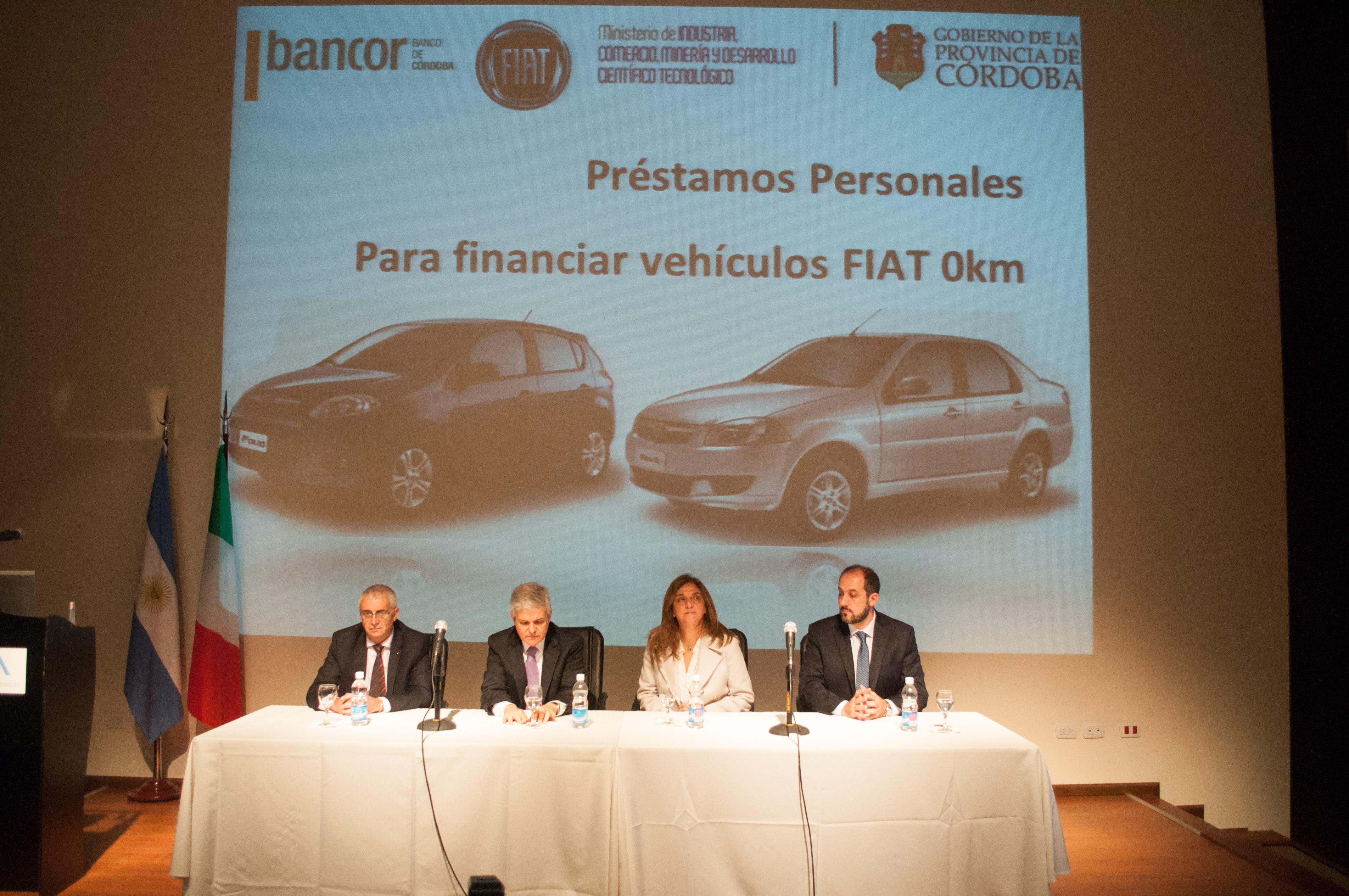 Fca automobiles argentina y el banco de c rdoba relanzan for Banco de cordoba prestamos