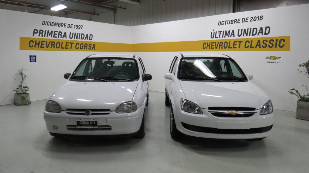 El Chevrolet Corsa Classic El Auto Mas Producido En La Historia De