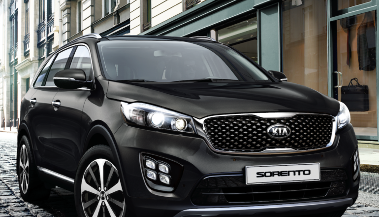 kia anuncio la llegada del nuevo sorento para enero de 2018 informe automotor. Black Bedroom Furniture Sets. Home Design Ideas