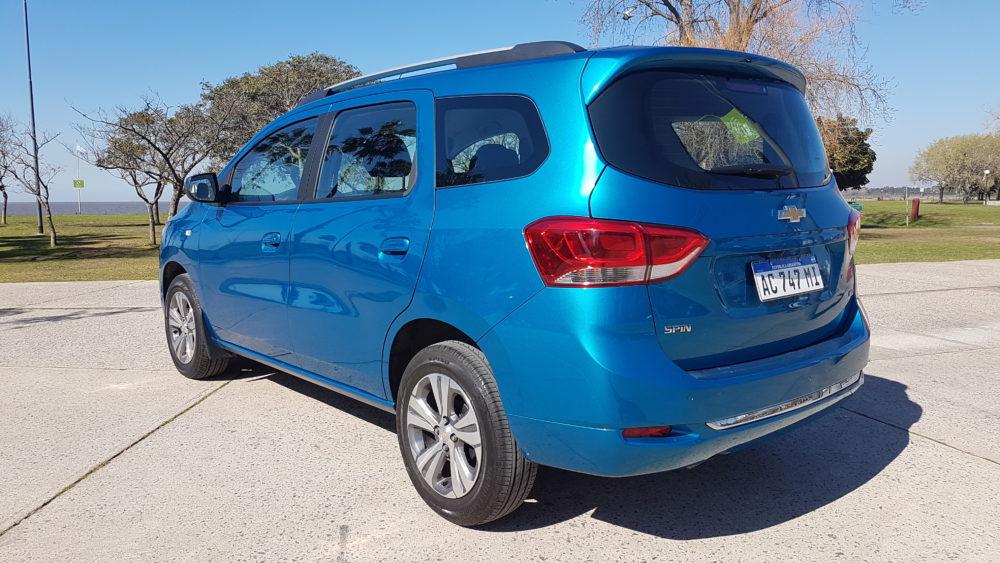 Probamos La Nueva Chevrolet Spin Ltz 2019 Informe Automotor